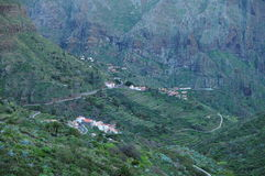 Road to Masca, Tenerife Royalty Free Stock Photography