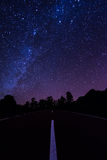 Road to the Milky Way Stock Photos