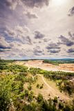 The road to the mine. Royalty Free Stock Photos