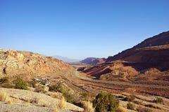 Road to Moab Utah Stock Image