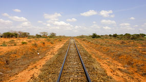 Road to Mombasa. Kenya. Eastern Africa Stock Photo