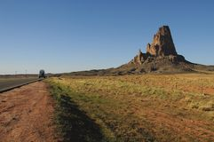 Road to Monument Valley Royalty Free Stock Photo