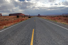 Road to Monument Valley 2 Royalty Free Stock Photos