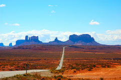 A road to Monument Valley Utah Stock Images