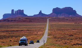 Road to Monument Valley , Utah, USA Stock Image