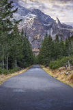 The road to Morskie Oko Stock Photography