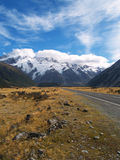 Road to Mount Cook Royalty Free Stock Photo