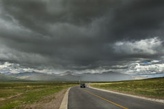 Road to Mount Kailash Royalty Free Stock Photo