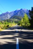 Road to Mount Kinabalu Stock Image