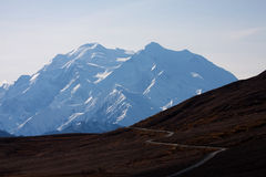 Road to  Mount McKinley Stock Images