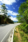 Road to the mountain Royalty Free Stock Photography