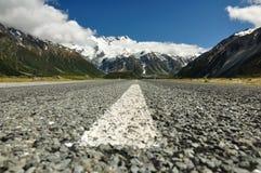 Road to mountain Royalty Free Stock Photos