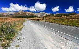 Road to the mountain Stock Photos