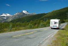 Road to mountain Royalty Free Stock Photo