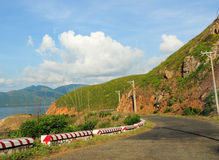 Road to the mountain in Con Dao island Stock Photo