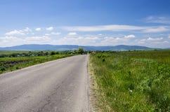 Road to mountain Stock Photos