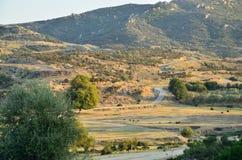 Road to Mountain Stock Photo