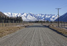 Road to the Mountains Stock Images