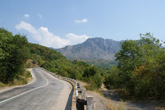 Free Road To Mountains Stock Photography - 7696362