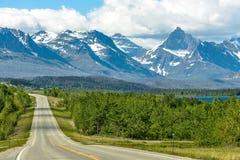 Road to the Mountains Stock Photo