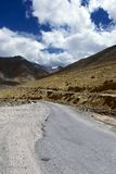 Road to mountains. Himalayan scenic Stock Photos