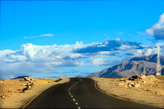 Road To Mountains. Himalayan Scenic. Royalty Free Stock Images