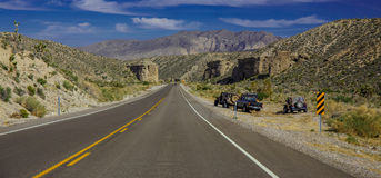 Road to the mountains. Royalty Free Stock Images