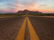 Straight Road Royalty Free Stock Images