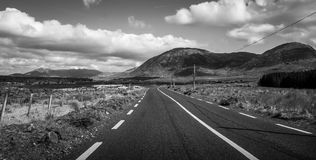 Road to the mountains Royalty Free Stock Image