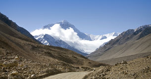 Road to Mt. Everest Stock Image