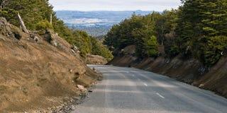 Road to Mt Ruapehu Stock Image