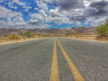 Road to no were hdr Royalty Free Stock Images