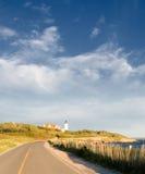 Road to Nobska Lighthouse Stock Photo