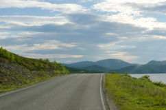 Road to Nordkapp/Northcape Royalty Free Stock Photo