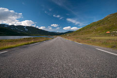 Road to Nordkapp/ Northcape, Norway Stock Photos