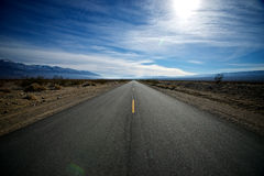 On the Road to Nowhere Stock Images
