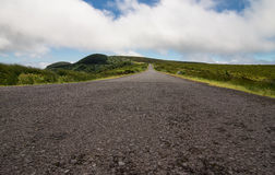 Road to nowhere in Azores Stock Photography
