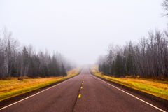 Road to nowhere royalty free stock images