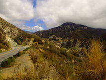 Road To Nowhere. Somewhere in the San Gabriel Mountains I found this picturesque bridge Royalty Free Stock Photos