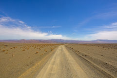 Road to nowhere. Southern Namibia Stock Photo