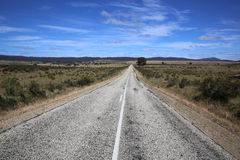 Road to nowhere. In Tasmania. Australia Royalty Free Stock Photography