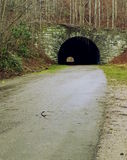 Road to Nowhere. The tunnel at the end of the Road to Nowhere in Great Smoky Mountains National Park near Bryson City, North Carolina Stock Images