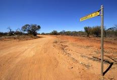 Road to Oakabella Royalty Free Stock Photo