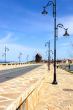 The road to the old town of Nessebar Royalty Free Stock Photography