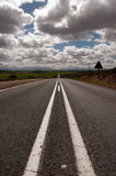 Road to Oudtshoorn Stock Image