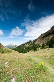 Road to the paradise. A path in Zuriza's Valley, Spanish Pirineos Stock Photography