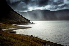 Road to Patreksfjörður royalty free stock images