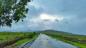 Road to Peace. Beauty of my native place in India Royalty Free Stock Image