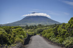 ROAD TO PICO MOUNT Stock Image