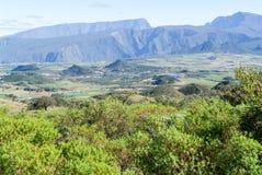 Road to Piton de la Fournaise volcano on La Reunion Royalty Free Stock Images